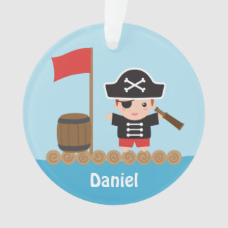 Cute Pirate Captain Ocean Raft Boys Room Decor