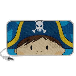 Cute Pirate Captain Speakers