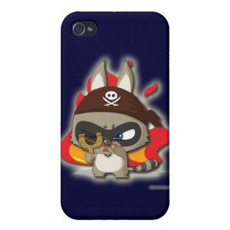 Cute Pirate Funny Cartoon Slingshot iPhone Case iPhone 4/4S Covers