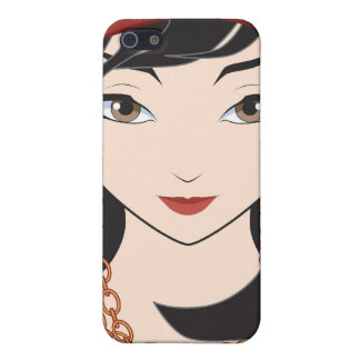 Cute Pirate Girl Case For iPhone SE/5/5s