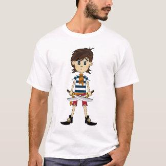 Cute Pirate Girl T-Shirt