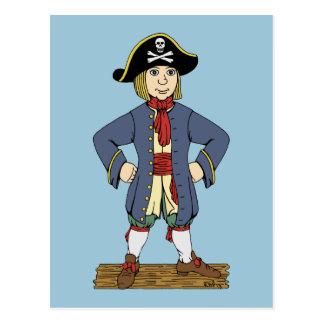 Cute Pirate Lad Postcard