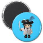 Cute Pirate Magnets