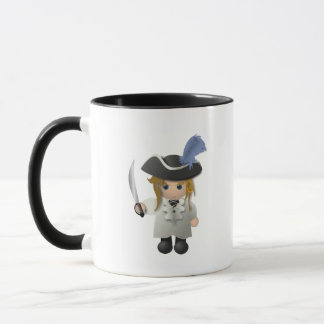 Cute Pirate Mug