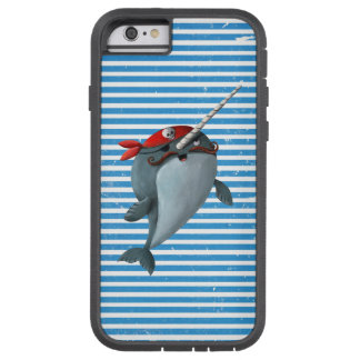 Cute Pirate Narwhal Tough Xtreme iPhone 6 Case