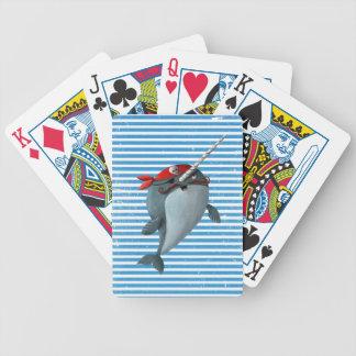 Cute Pirate Narwhal Card Decks