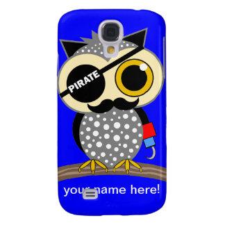 cute pirate owl samsung galaxy s4 case