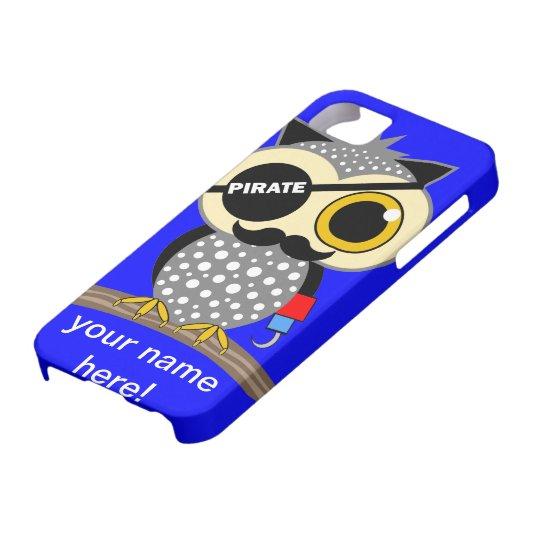 cute pirate owl iPhone SE/5/5s case