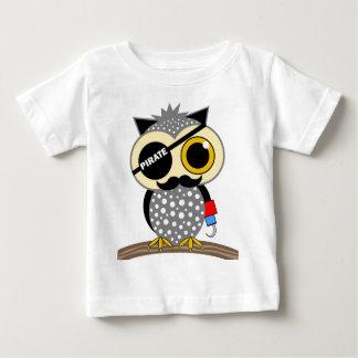 cute pirate owl t shirt