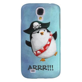 Cute Pirate Penguin Galaxy S4 Covers