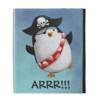 Cute Pirate Penguin iPad Case