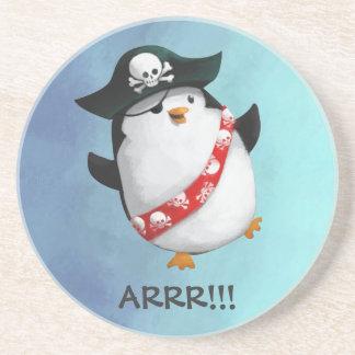 Cute Pirate Penguin Coaster