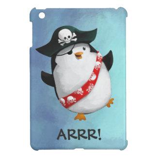 Cute Pirate Penguin iPad Mini Cases