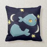 Cute Pisces Throw Pillow