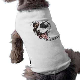 Cute Pit Bull Dog Designs by Mudge Studios Dog Tee Shirt