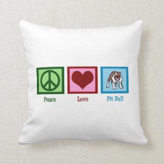 Cute Pit Bull Pillow