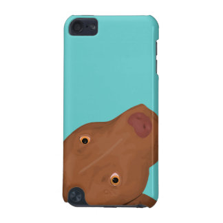 Cute Pit Bull portrait iPod Touch 5G Cover