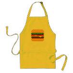 Cute Pixel Art Burger Time Apron