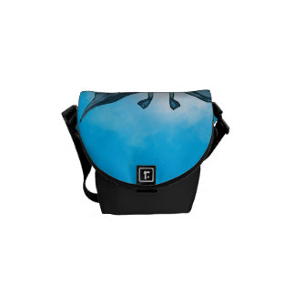 Cute pixie courier bag