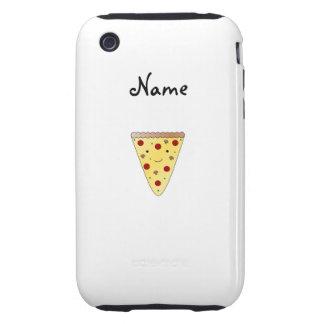 Cute pizza tough iPhone 3 case