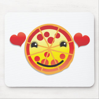 cute pizza pepperoni! mouse pad