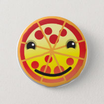 cute pizza pepperoni! pinback button