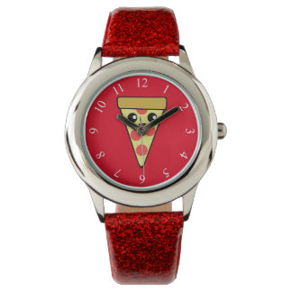 Cute Pizza Slice Watches