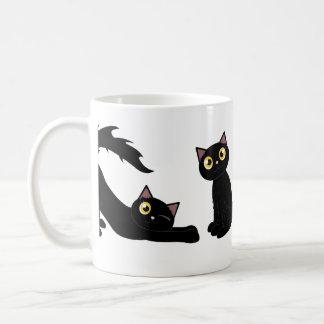 Cute Playful Black Cat Series Coffee Mug