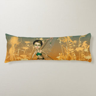 Cute playing and flying fairies body pillow