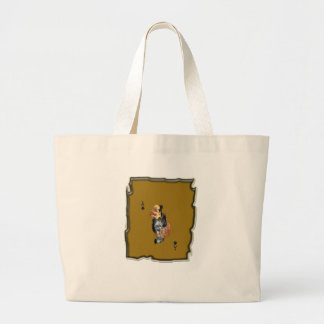 Cute Playing Card As Tote Bag