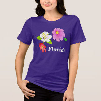 Cute Plus Size T Shirts Pretty Exotic Flowers