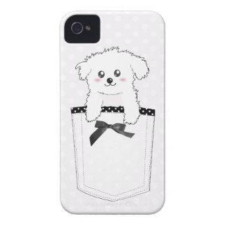Cute Pocket Puppy Dog Case-Mate iPhone 4 Case