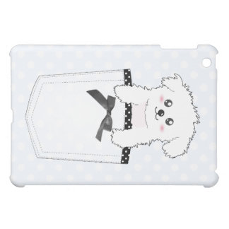 Cute Pocket Puppy Dog iPad Mini Cover