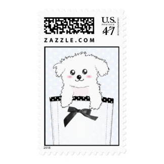 Cute Pocket Puppy Dog Postage