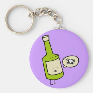 Cute Poison Bottle Keychain