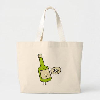Cute Poison Bottle Large Tote Bag