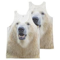 Cute Polar Bear All-Over-Print Tank Top