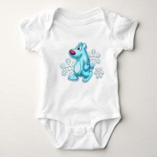 Cute polar bear baby shirt