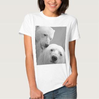 Cute polar bear couple t shirt