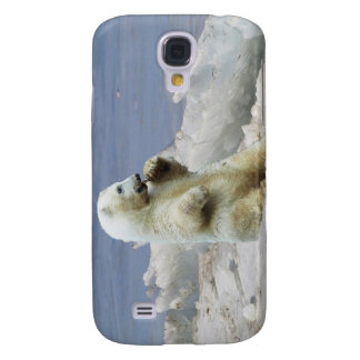 Cute Polar Bear Cub & Arctic Ice Samsung S4 Case