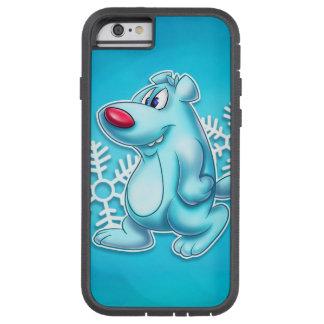 Cute polar bear iPhone 6 cartoon Tough Xtreme iPhone 6 Case