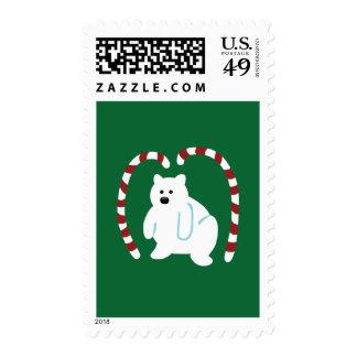 Cute Polar Bear Stamps