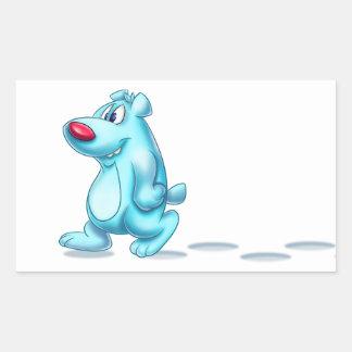 cute polar bear sticker cartoon