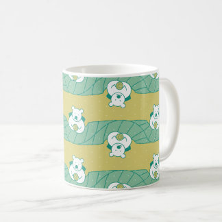 Cute Polar Bear Tea Break Pattern Mug