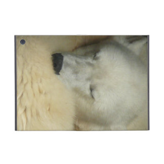Cute Polar Bears Peace Love Party Destiny Digital iPad Mini Covers