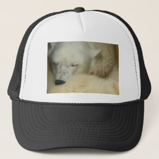 Cute Polar Bears Peace Love Party Destiny Digital Trucker Hat