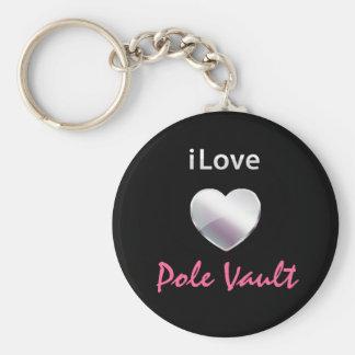 Cute Pole Vault Keychain