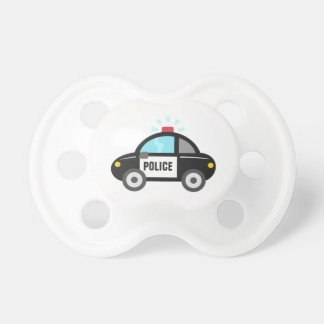 Cute Police Car with Siren BooginHead Pacifier