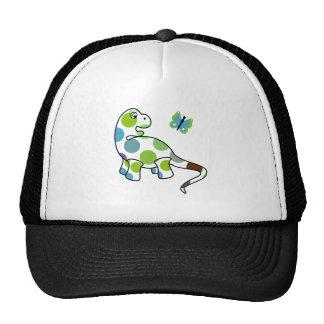 Cute Polka Dot Dinosaur Hat