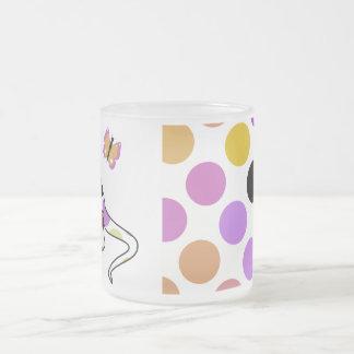 Cute Polka Dot Dinosaur Mug